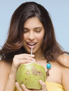 drink Coconut water for acne