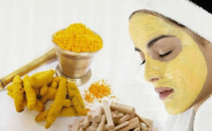 Use Turmeric and sandalwood mixture for acne