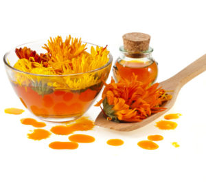 use marigold for acne
