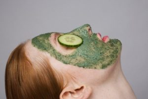 use cucumber for acne