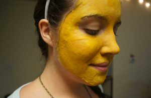 use turmeric on your face for acne