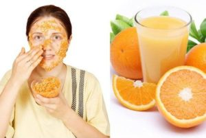 orange peel for acne