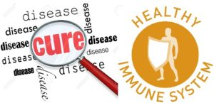 disease cure and healthy immunity